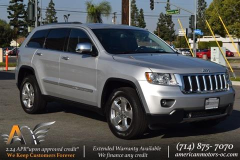 2012 Jeep Grand Cherokee for sale in Fullerton, CA