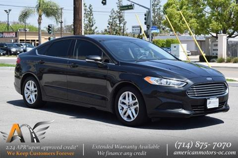 2015 Ford Fusion for sale in Fullerton, CA