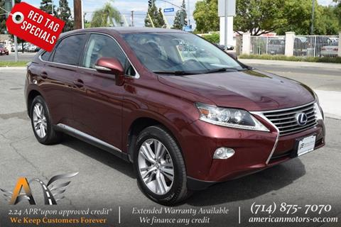 2015 Lexus RX 450h For Sale In Fullerton, CA