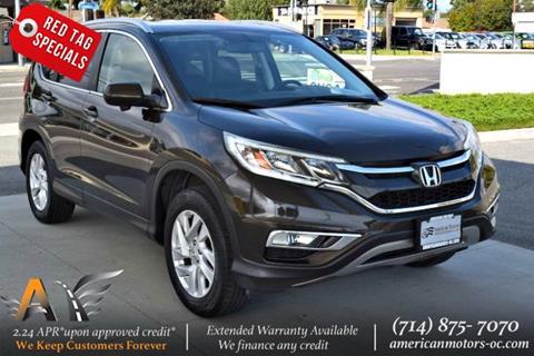 2016 Honda CR-V for sale in Fullerton, CA