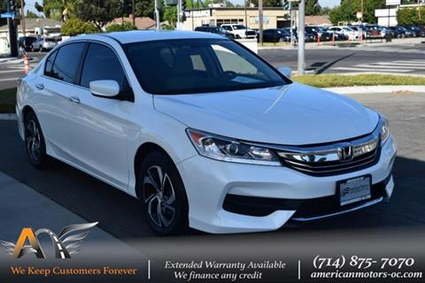 2016 Honda Accord for sale in Fullerton, CA