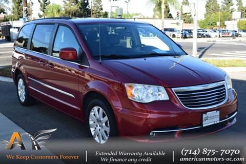 2014 Chrysler Town and Country for sale in Fullerton, CA