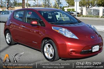 2013 Nissan LEAF for sale in Fullerton, CA