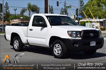 2011 Toyota Tacoma for sale in Fullerton, CA