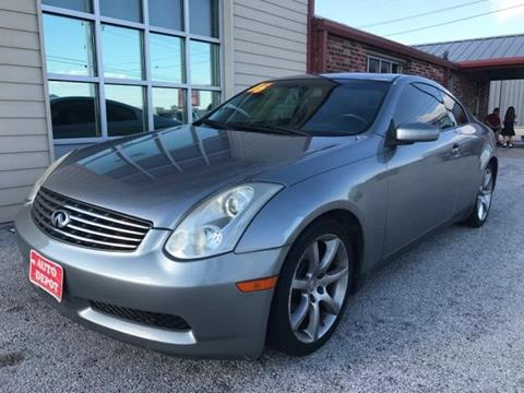 2006 Infiniti G35 for sale at Auto Depot in Killeen TX