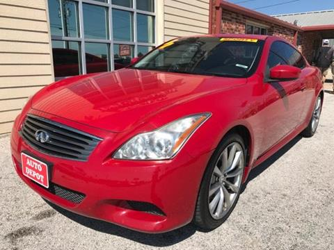2008 Infiniti G37 for sale at Auto Depot in Killeen TX