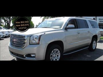 2016 GMC Yukon XL for sale in Fort Myers, FL