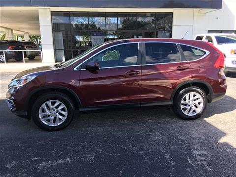 2016 Honda CR-V for sale in Fort Myers, FL