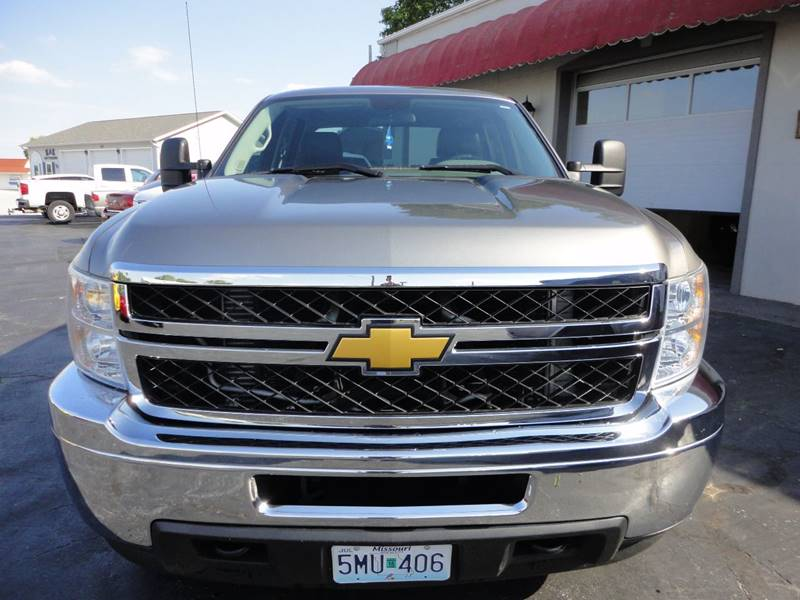 2014 Chevrolet Silverado 3500HD 4x4 Work Truck 4dr Crew Cab SRW - Perryville MO