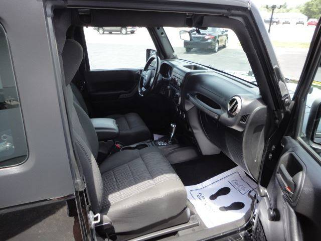 2012 Jeep Wrangler 4x4 Sport 2dr SUV - Perryville MO
