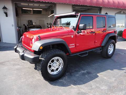 2012 Jeep Wrangler Unlimited for sale in Perryville, MO