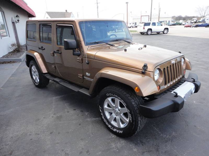 2011 Jeep Wrangler Unlimited 4x4 70th Anniversary 4dr SUV - Perryville MO