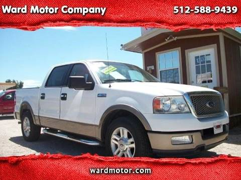 2004 Ford F-150 for sale at Ward Motor Company in Burnet TX