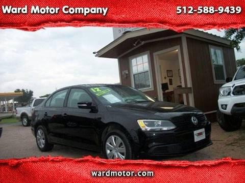 2012 Volkswagen Jetta for sale at Ward Motor Company in Burnet TX