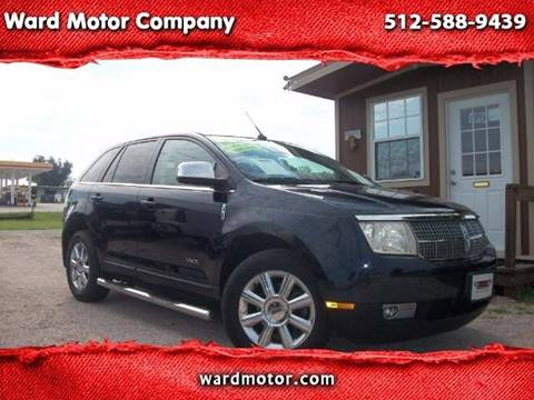 2008 Lincoln MKX for sale at Ward Motor Company in Burnet TX
