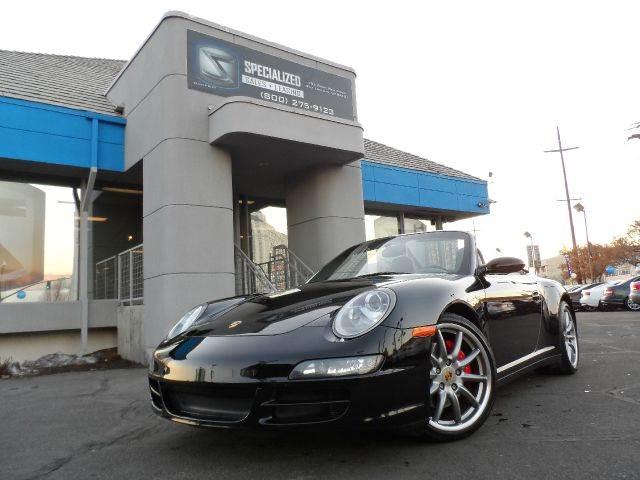 2007 Porsche 911 Carrera 4s Cabriolet In Salt Lake City Ut
