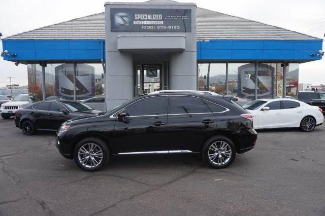 2013 Lexus Rx 450h In Salt Lake City Ut Specialized Sales Leasing