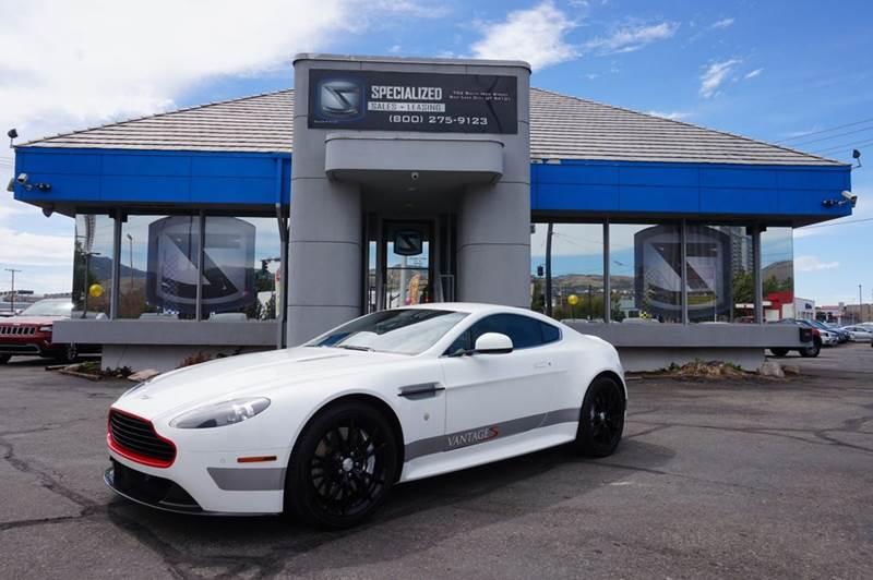 2012 Aston Martin V8 Vantage In Salt Lake City Ut Specialized