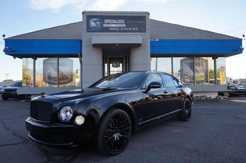 2013 Bentley Mulsanne 4dr Sedan In Salt Lake City UT - Specialized ...