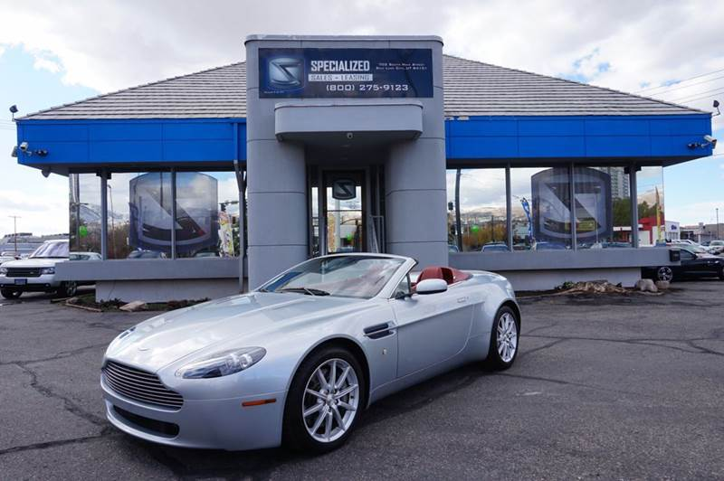2007 Aston Martin V8 Vantage In Salt Lake City Ut Specialized