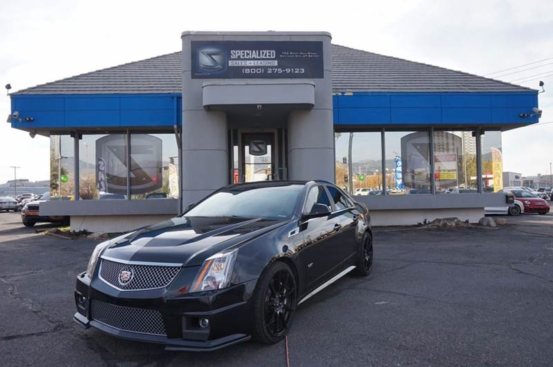 2012 Cadillac Cts V In Salt Lake City Ut Specialized Sales Leasing