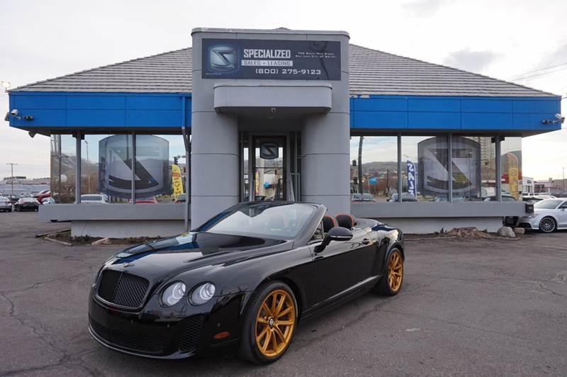2013 Bentley Continental Supersports In Salt Lake City Ut