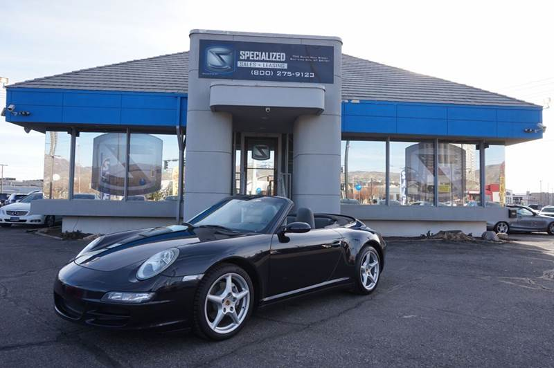 2006 Porsche 911 Carrera 4 Awd 2dr Convertible In Salt Lake City Ut