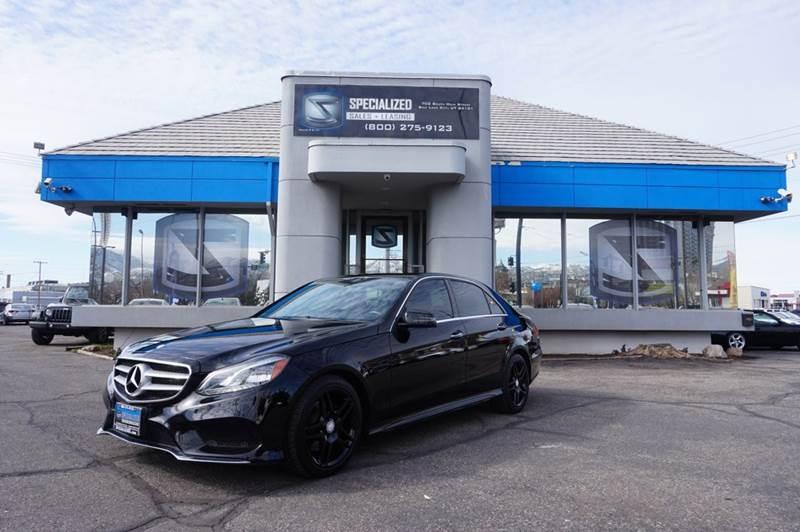 Superior 2014 Mercedes Benz E Class   Salt Lake City, UT