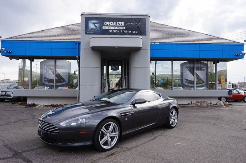 2007 Aston Martin Db9 In Salt Lake City Ut Specialized Sales
