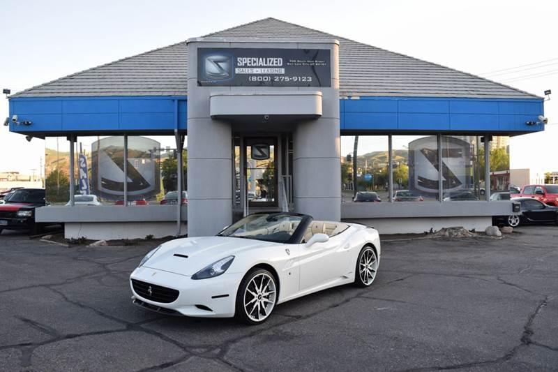 2013 Ferrari California Base 2dr Convertible In Salt Lake City Ut