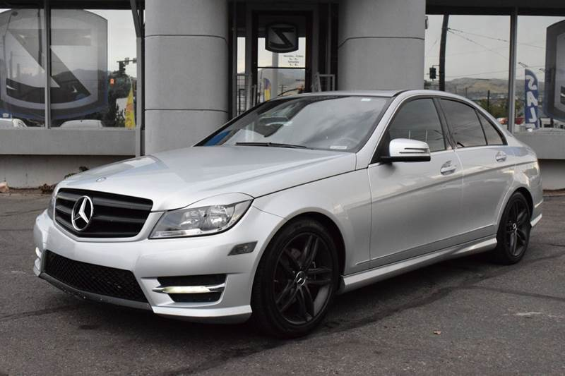 2012 Mercedes Benz C Class C300 Sport 4MATIC AWD 4dr Sedan In Salt