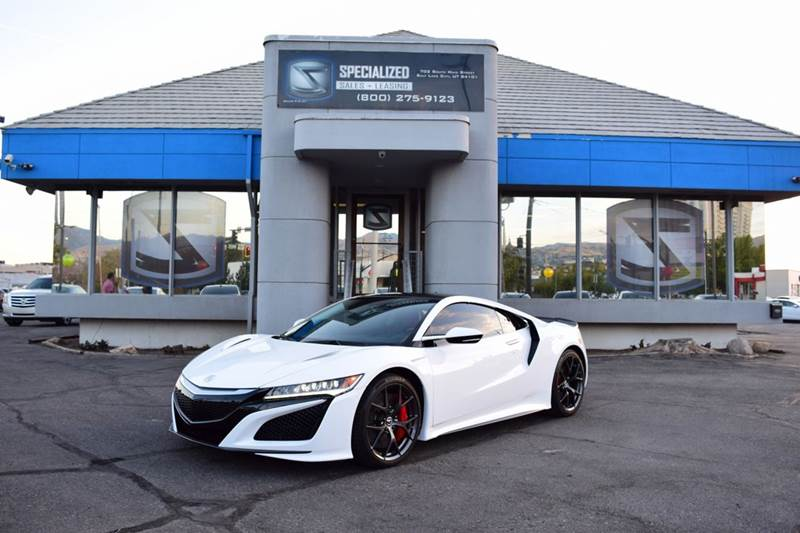 2017 Acura Nsx In Salt Lake City Ut Specialized Sales Leasing