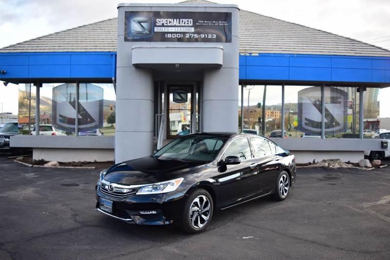 2017 Honda Accord EX L V6 4dr Sedan   Salt Lake City UT