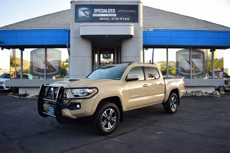 2016 Toyota Tacoma In Salt Lake City Ut Specialized Sales Leasing