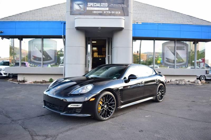 2012 Porsche Panamera Turbo S 4dr Sedan In Salt Lake City Ut