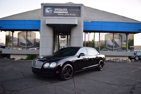 Bentley Used Cars Luxury Cars For Sale Salt Lake City Specialized