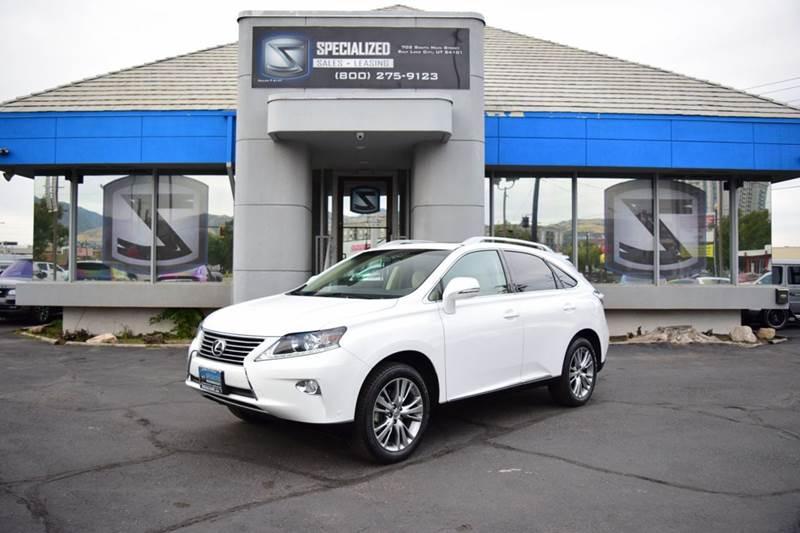 2014 Lexus RX 350 Base 4dr SUV   Salt Lake City UT