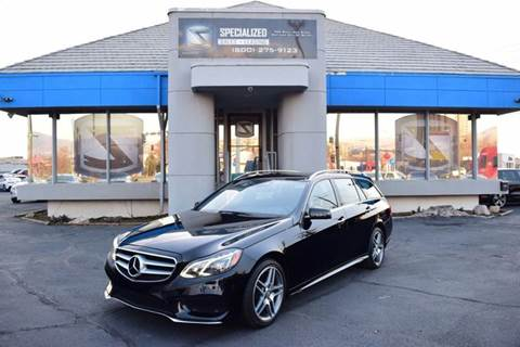 2015 Mercedes Benz E Class For Sale In Salt Lake City, UT