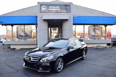 2015 Mercedes Benz E Class For Sale In Salt Lake City, UT