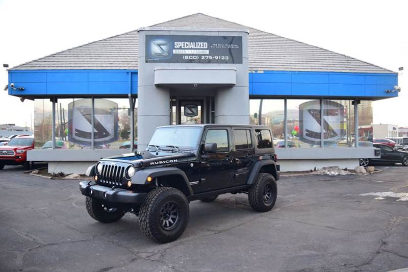 2017 Jeep Wrangler Unlimited Rubicon Recon 4x4 4dr SUV   Salt Lake City UT
