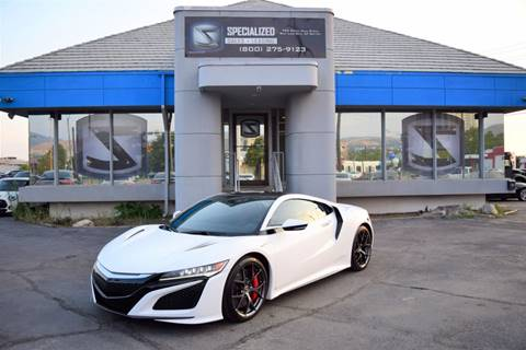 2017 Acura Nsx For Sale >> Acura Nsx For Sale In Salt Lake City Ut Specialized Sales Leasing