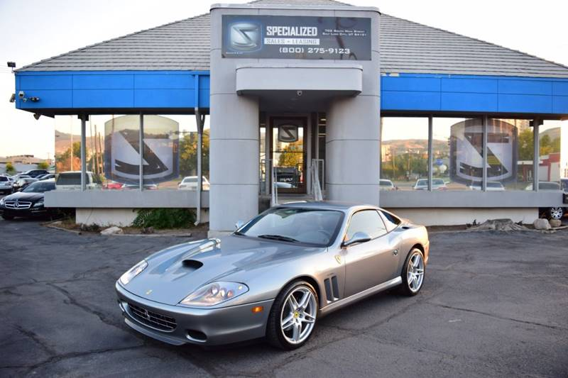 2004 ferrari 575m maranello 2dr coupe in salt lake city ut specialized sales leasing. Black Bedroom Furniture Sets. Home Design Ideas