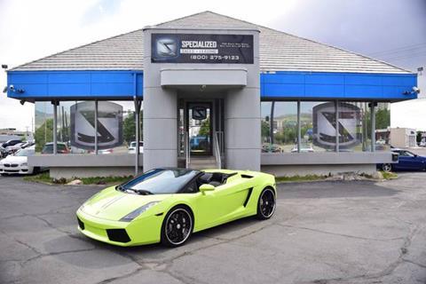 2008 Lamborghini Gallardo for sale in Salt Lake City, UT