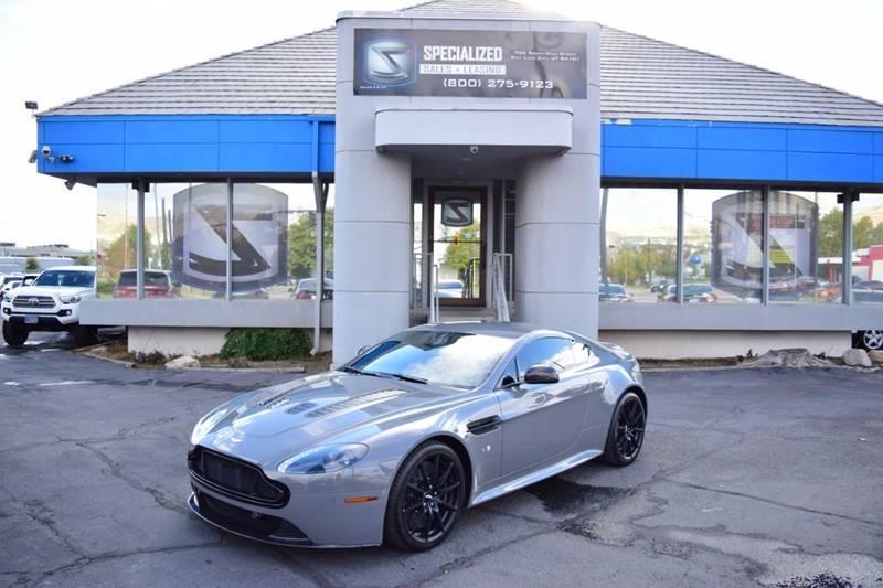 2015 Aston Martin V12 Vantage S In Salt Lake City Ut Specialized