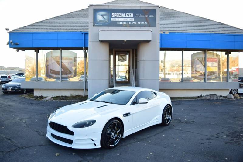 2015 Aston Martin V8 Vantage Gt In Salt Lake City Ut Specialized