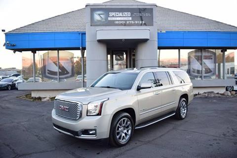 2015 GMC Yukon XL for sale in Salt Lake City, UT