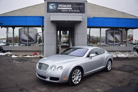 Bentley For Sale In Salt Lake City Ut Specialized Sales Leasing