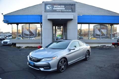 2016 Honda Accord for sale in Salt Lake City, UT