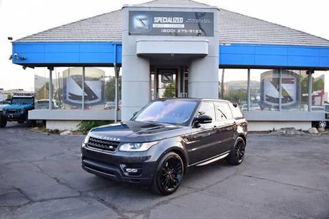 Land Rover Salt Lake City >> Land Rover Range Rover For Sale In Salt Lake City Ut