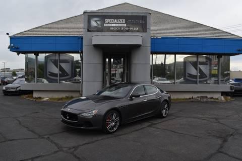 2017 Maserati Ghibli for sale in Salt Lake City, UT